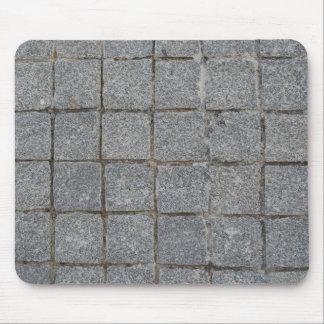 Portuguese tradition grey calçada mouse pads