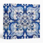 Portuguese Traditional Azulejo Wall Decoration Binder