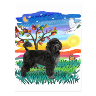 Portuguese Water Dog (#2) Postcard