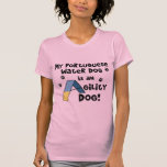 Portuguese Water Dog Agility Dog Twofer Shirt