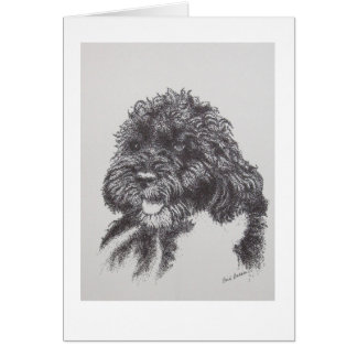 Portuguese Water Dog Bo Obama Stationery Note Card