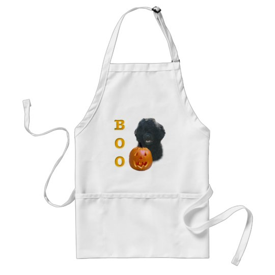 Portuguese Water Dog Boo Adult Apron