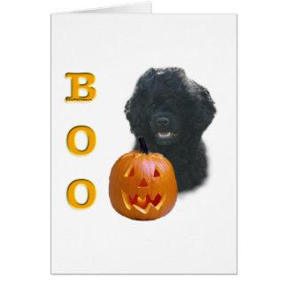 Portuguese Water Dog Boo Card