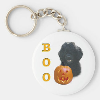 Portuguese Water Dog Boo Key Chain