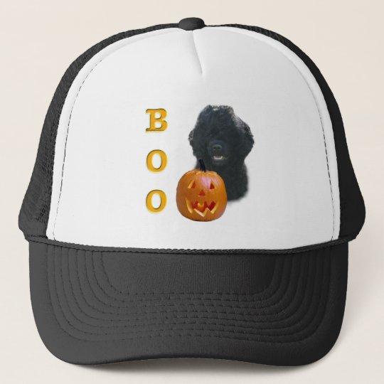Portuguese Water Dog Boo Trucker Hat