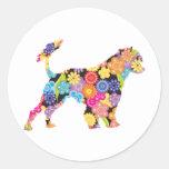 Portuguese Water Dog Classic Round Sticker