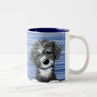 Portuguese Water Dog Coffee Mugs