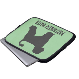 Portuguese Water Dog Computer Sleeve