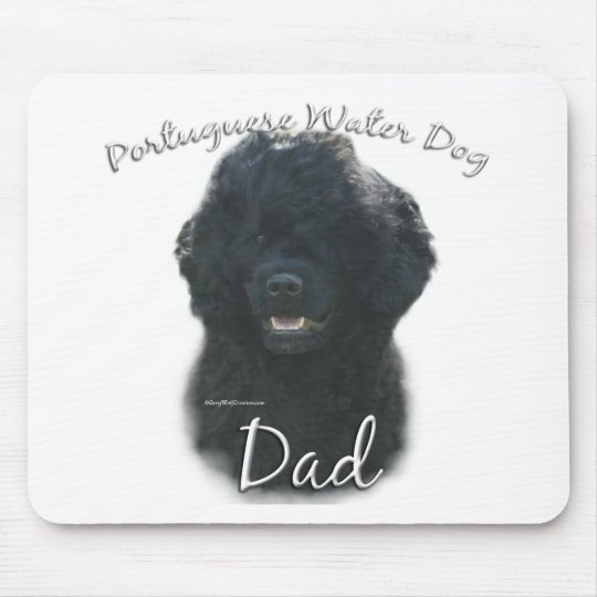 Portuguese Water Dog Dad 2 Mouse Pad