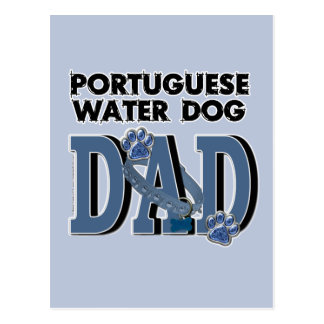 Portuguese Water Dog DAD Postcard