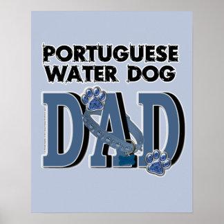 Portuguese Water Dog DAD Print