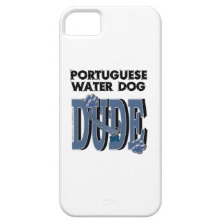 Portuguese Water Dog DUDE iPhone SE/5/5s Case