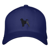 Portuguese Water Dog Embroidery Hat