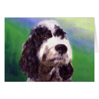 Portuguese Water Dog Greeting Cards