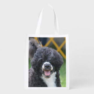 Portuguese Water Dog Grocery Bags