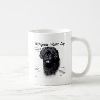 Portuguese Water Dog History Design Mugs