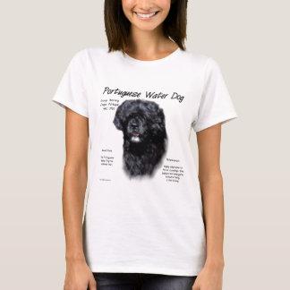 Portuguese Water Dog History Design T-Shirt