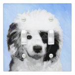 Portuguese Water Dog Light Switch Cover