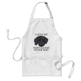 PORTUGUESE WATER DOG Love! Adult Apron