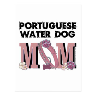 Portuguese Water Dog MOM Postcard