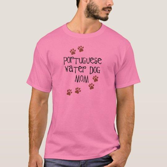 Portuguese Water Dog Mom T-Shirt