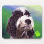 Portuguese Water Dog Mouse Mats