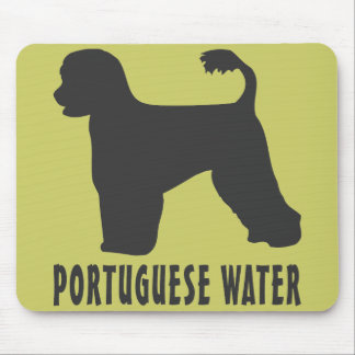 Portuguese Water Dog Mousepads