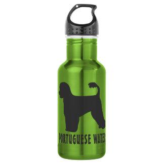 Portuguese Water Dog 18oz Water Bottle