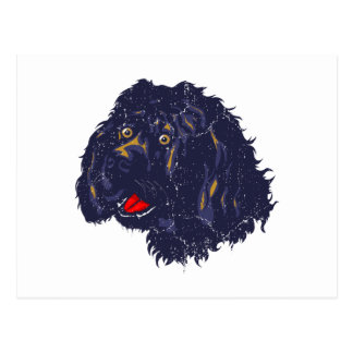 Portuguese Water Dog Postcard