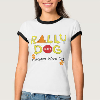 Portuguese Water Dog Rally Dog T Shirt