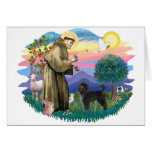 Portuguese Water Dog (ret cut) Greeting Cards