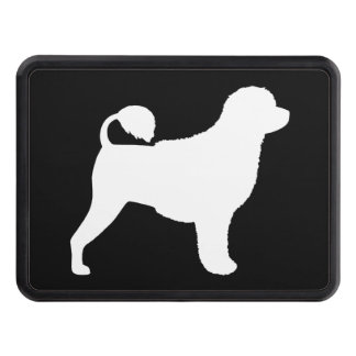 Portuguese Water Dog Silhouette Hitch Cover