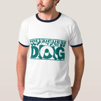 Portuguese Water Dog Silhouette Shirt