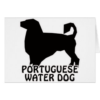 Portuguese Water Dog T-Shirts and Gifts Card
