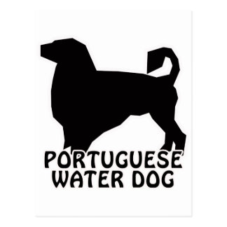 Portuguese Water Dog T-Shirts and Gifts Postcard