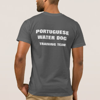 Portuguese Water Dog Training Team T-Shirt