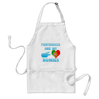 Portugueses are my Homies Adult Apron