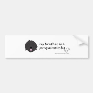 PortWaterDogBrother Bumper Sticker