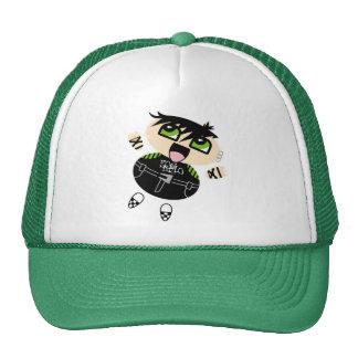 Pos-Emo boy cap Mesh Hats