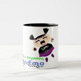 Pos-Emo Two-Tone Coffee Mug