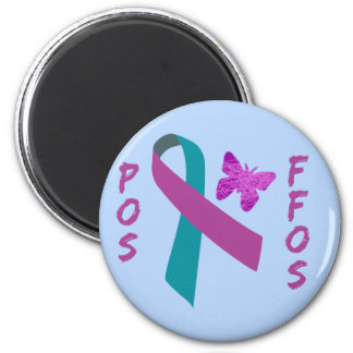 POS-FFOS Suicide Survivors Ribbon & Butterfly Magnets