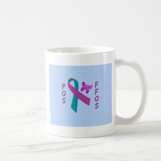 POS-FFOS Suicide Survivors Ribbon Butterfly Coffee Mug