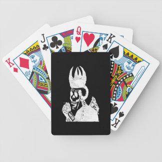 Posada Calavera Bishop Bicycle Playing Cards