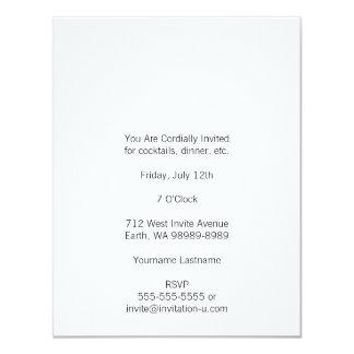 Posada Calavera Couple 4.25x5.5 Paper Invitation Card