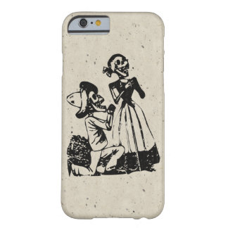 Posada Cavalera Courting Skeleton Couple Barely There iPhone 6 Case