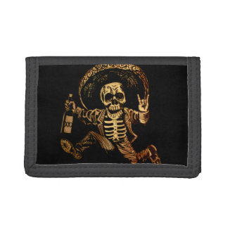 Posada day of the dead Outlaw wallet