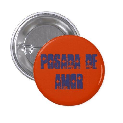 Posada de Amor 1 Inch Round Button