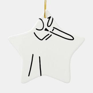 posaunist trompeter more blechblaeser ceramic ornament