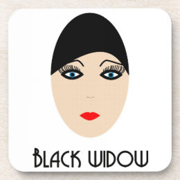 Posavasos black widow coaster