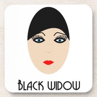 Posavasos black widow coaster